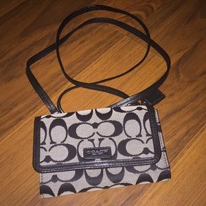 Coach small wallet purse
